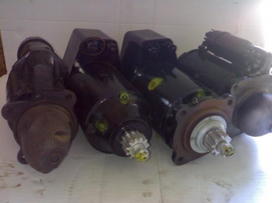 Motores de arranque (diversos)